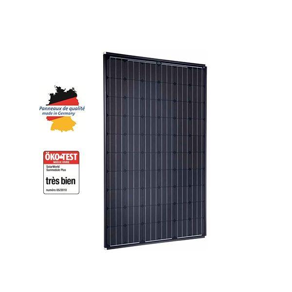 panneau solaire 250w monocristallin solarworld. Black Bedroom Furniture Sets. Home Design Ideas