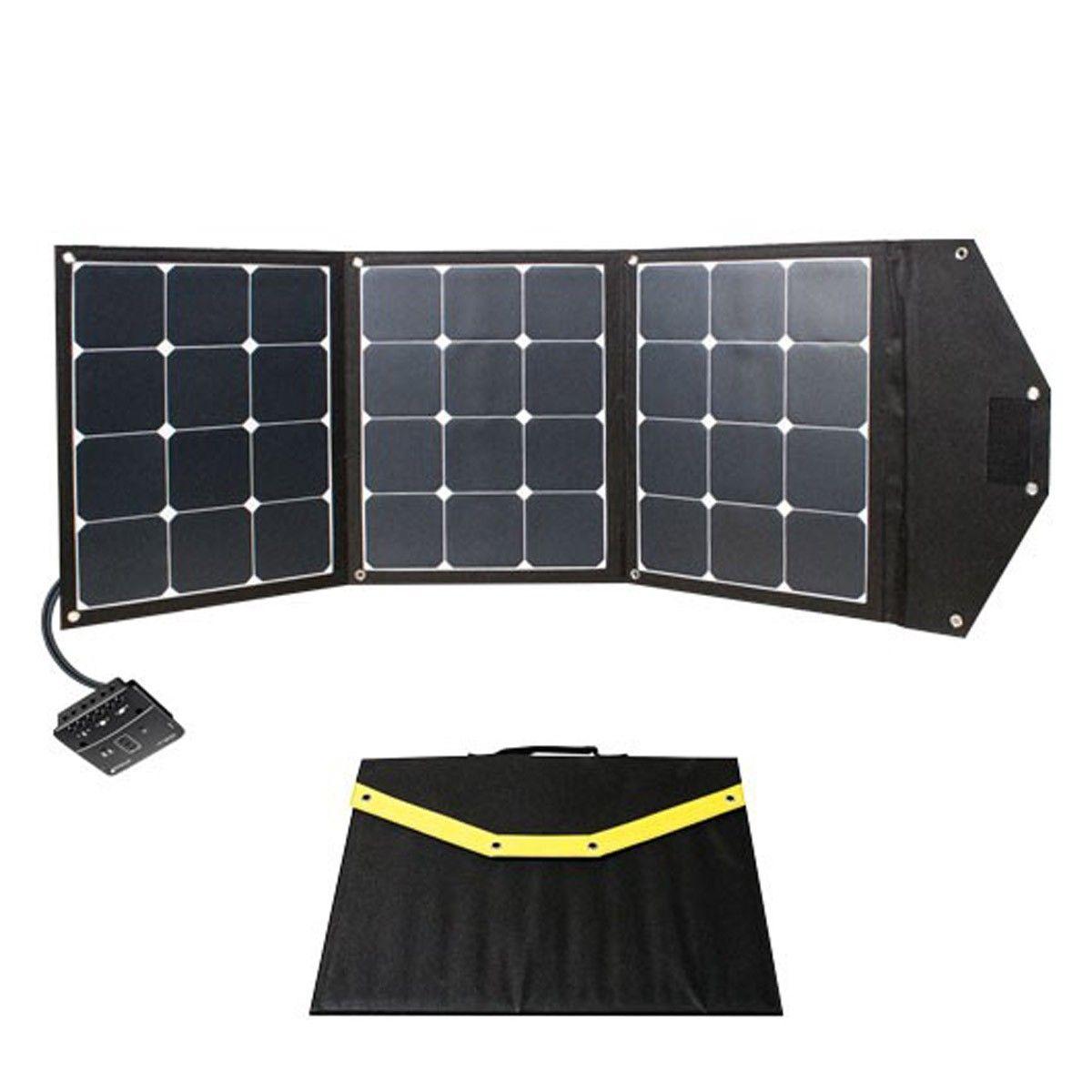 panneau solaire pliable 105w. Black Bedroom Furniture Sets. Home Design Ideas