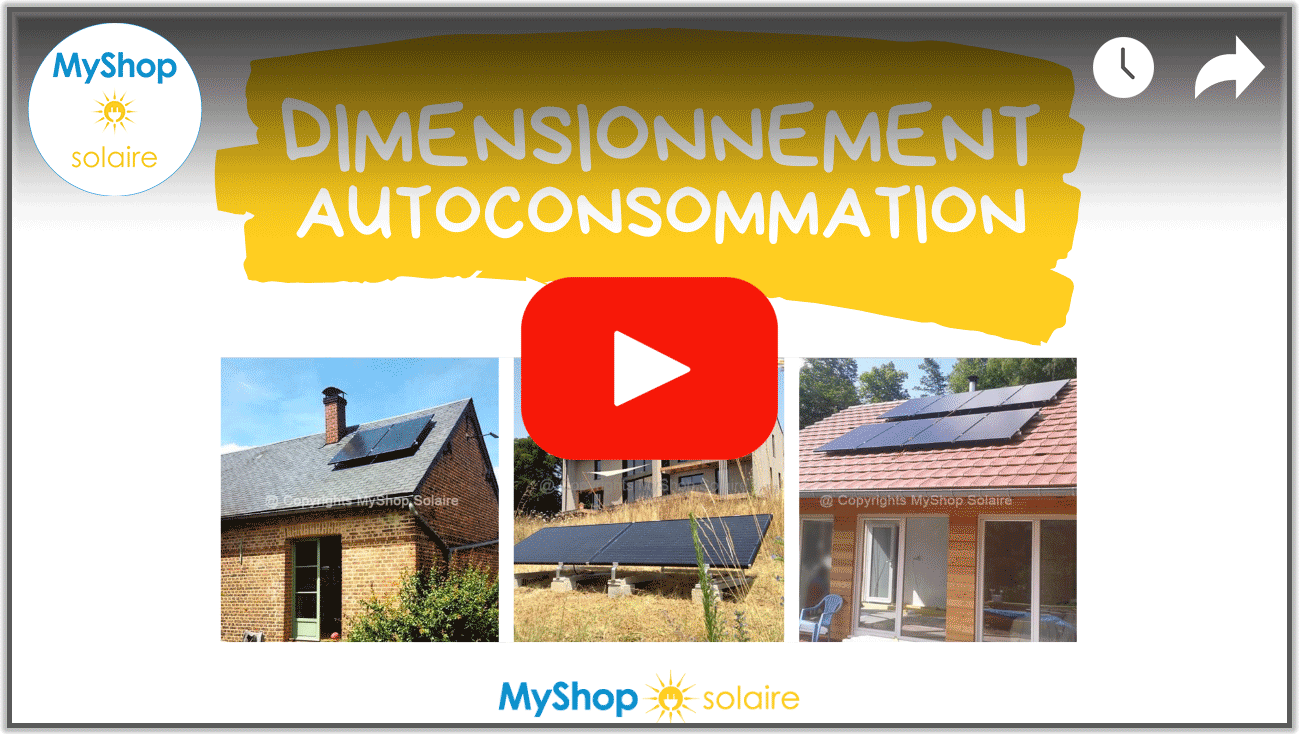 Video Dimensionnement kit solaire autoconsommation