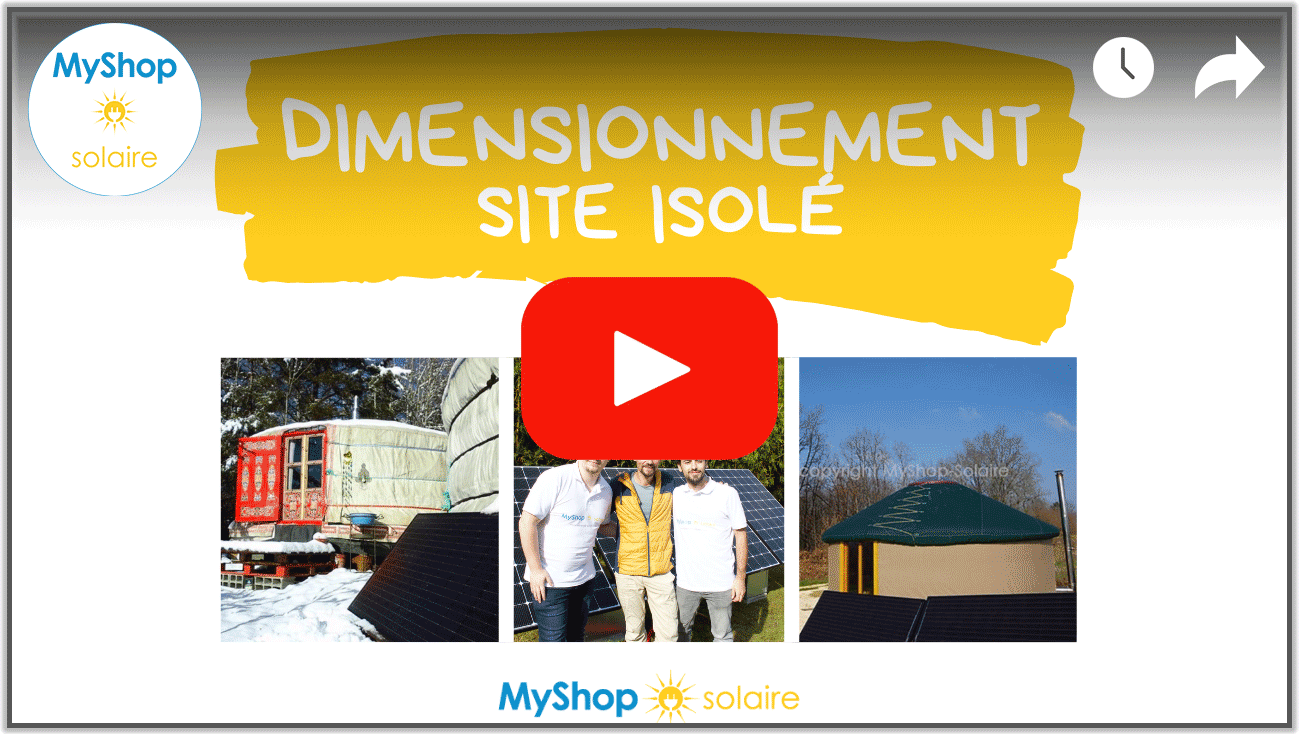 Video Dimensionnement kit solaire autonome